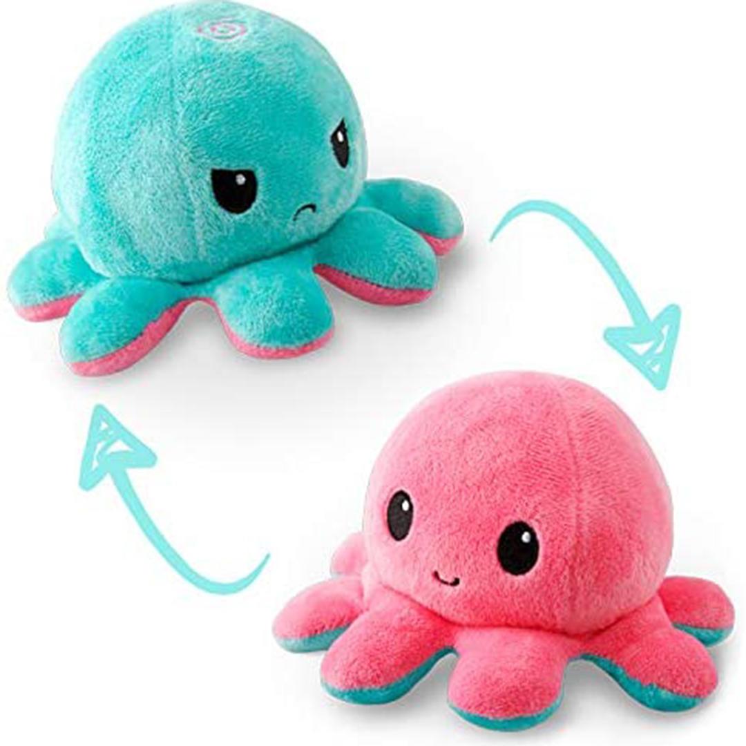 TeeTurtle reversible octopus