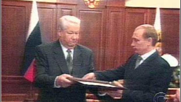 Afbeeldingsresultaat voor boris yeltsin resignment