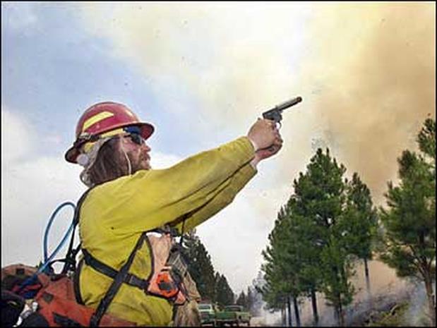 July 2002 Western Fires