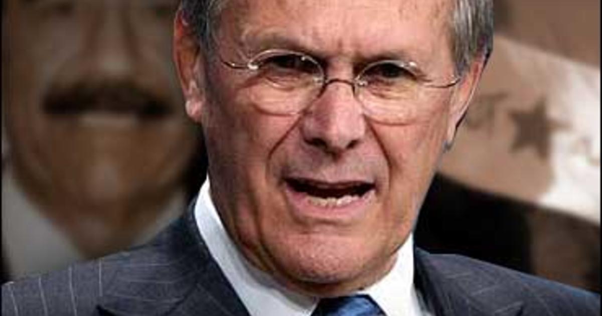 Rumsfeld: It Would Be A Short War - CBS News