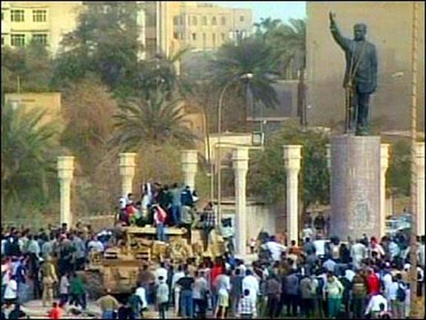 Saddam Loses Baghdad