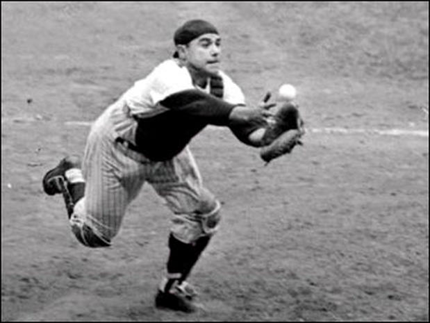 Yogi Berra through the years
