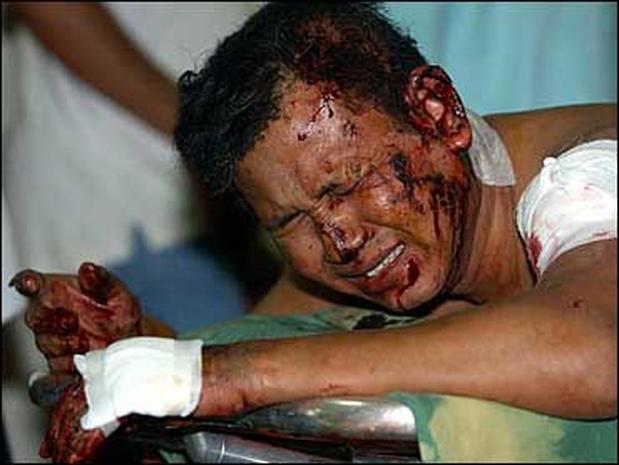 Explosion In Jakarta