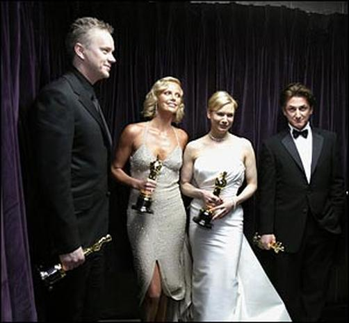 Backstage Oscar