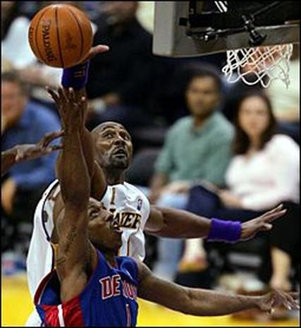 2004 NBA Finals: Game 1
