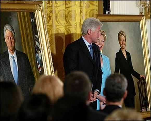 The Clinton Portraits