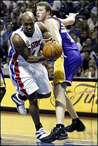 2004 NBA Finals: Game 5