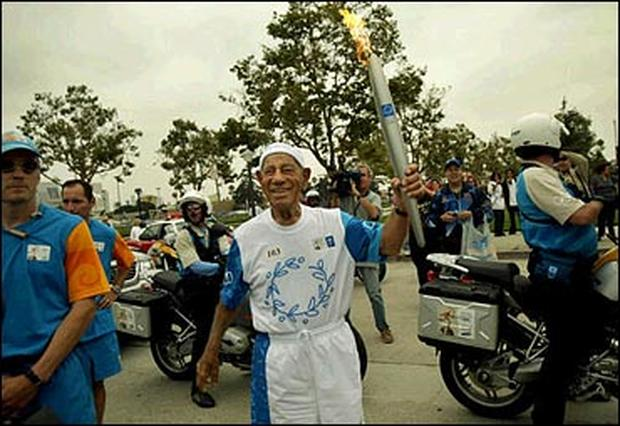 Olympic Torch In U.S.