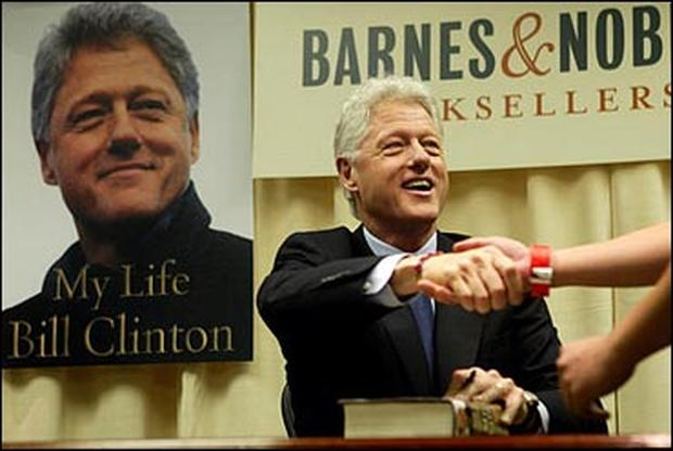 Clinton's Book Blitz
