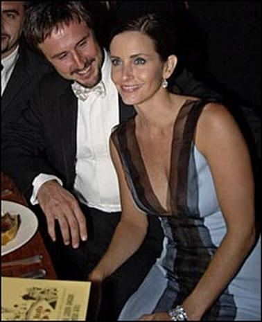 David Arquette & Courteney Cox
