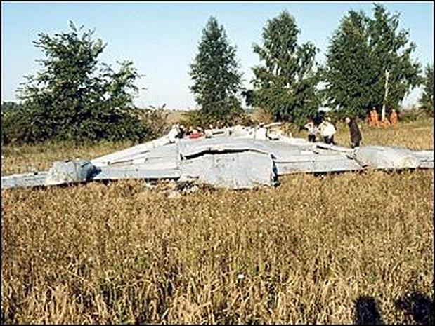 Russia Plane Crashes