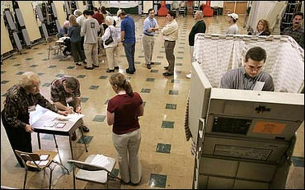 Voting Day 2004
