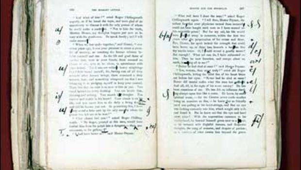 scarlet letter' manuscript sold - cbs news