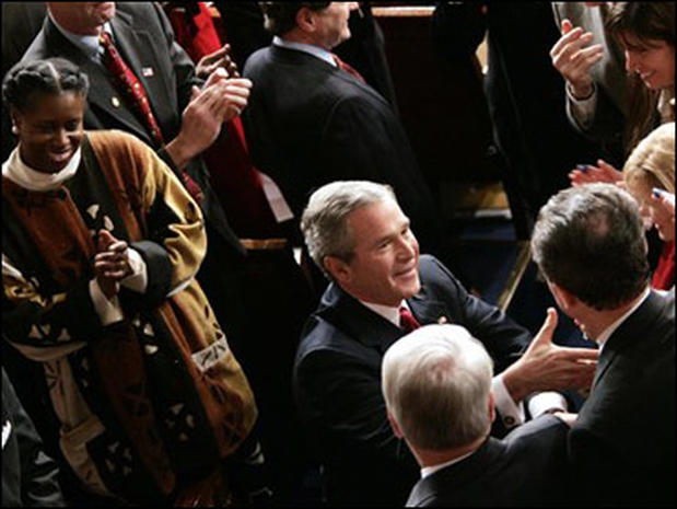 State of the Union 2005 George Bush PHOTOESSAY