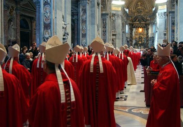 Cardinals Begin Conclave