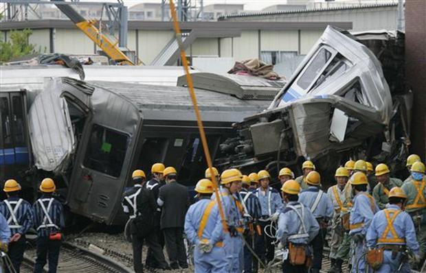 Japan Train Derailment