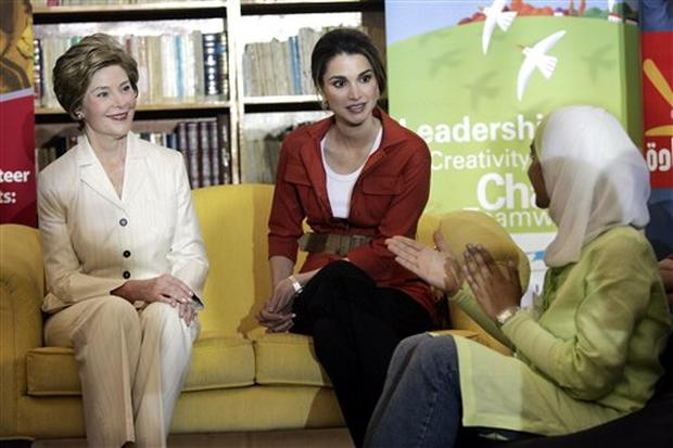 Laura Bush's Tour