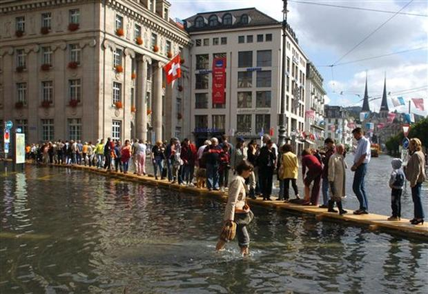 Switzerland Floods