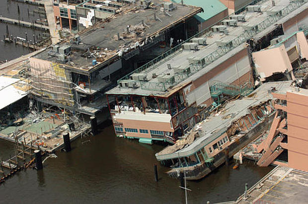 Katrina Mississippi Photo 7 Cbs News