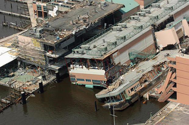Katrina Mississippi Photo 7 Cbs News