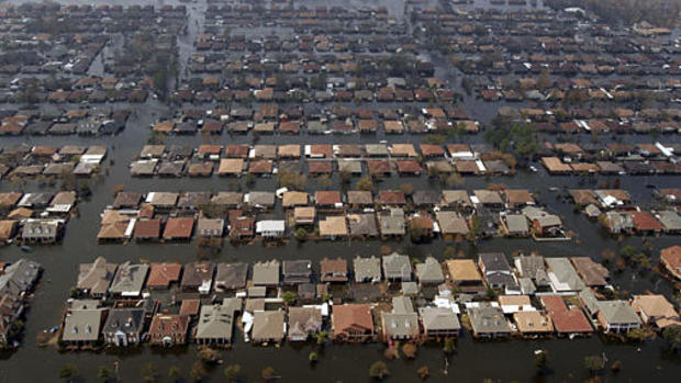 Katrina:  New Orleans Under Water