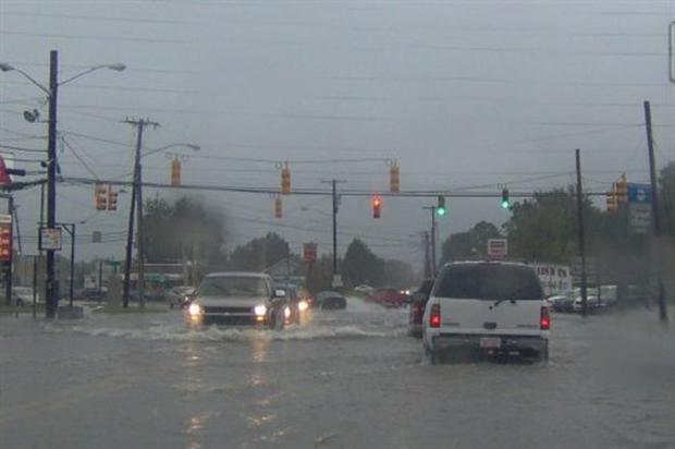 Tammy's Flooding Widespread