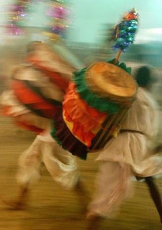 Indian Hindus Celebrate Goddess