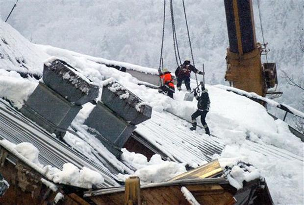 Germany Roof Collapse