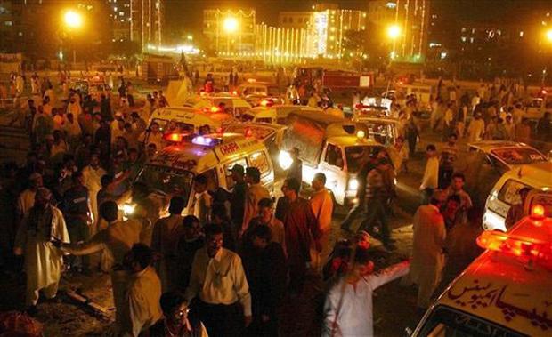 Pakistan Prayer Blast