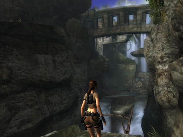 Screens Of Ps2 Version Tomb Raider Legend Pictures Cbs News