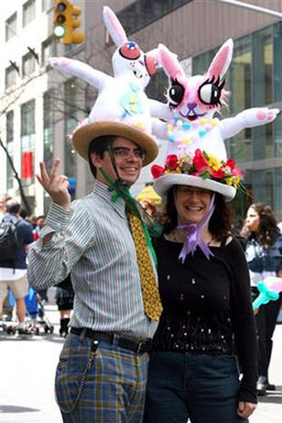 Easter Bonnets 2006