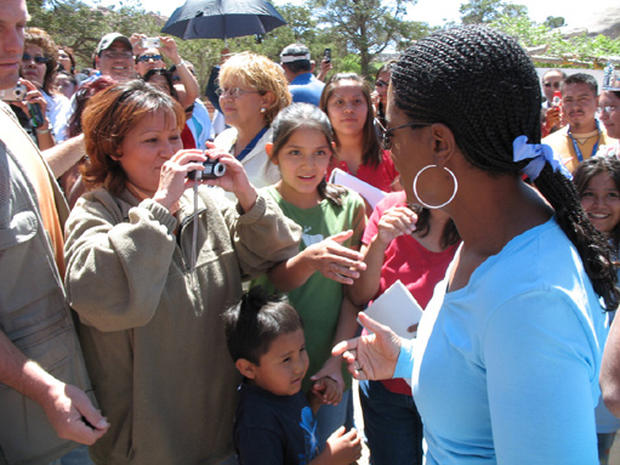 Oprah Visits The Navajo Nation