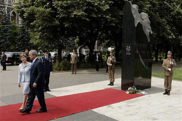 Bush In Budapest