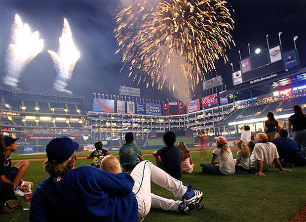 Sparks Fly On The Fourth