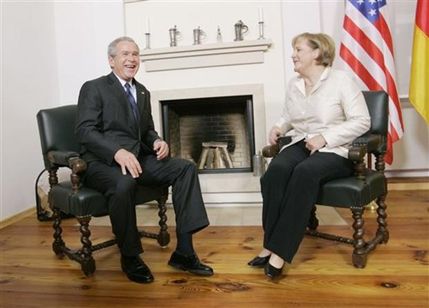 Bush In Germany