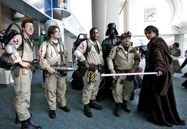 Costumes At Comic-Con