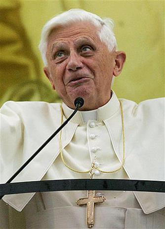 Pope Sparks Outcry