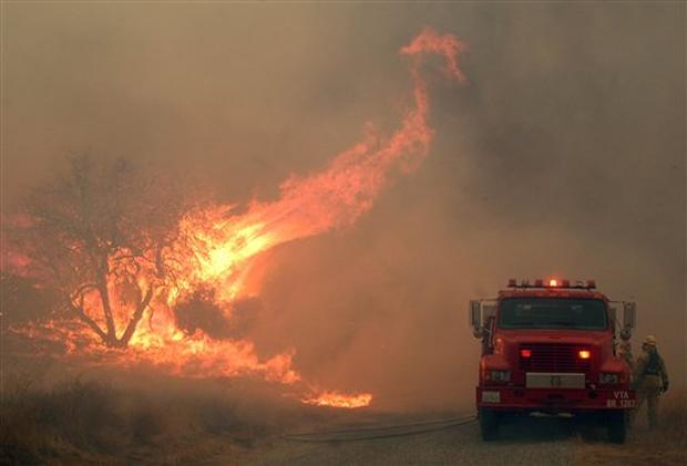 Fatal Calif. Wildfire