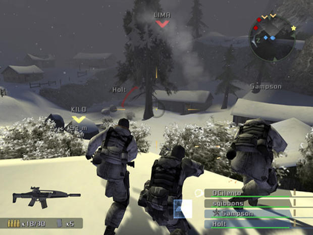 SOCOM Combined Assault Screenshots