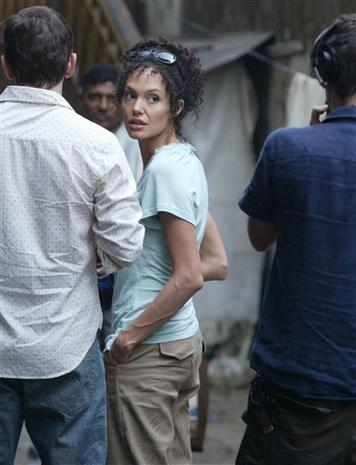 On Location With Angelina