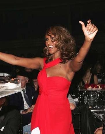 Alicia Keys, Iman Host  Ball