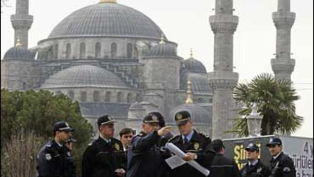 police at mosque