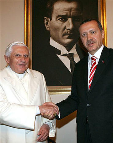 Pope Visits Turkey