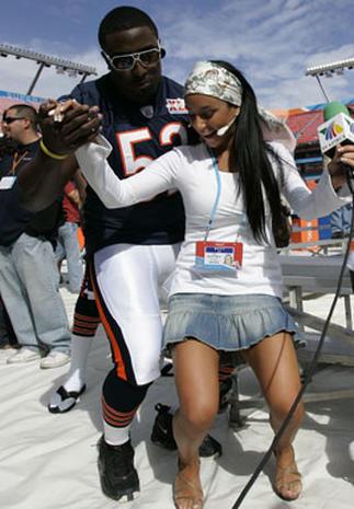 Super Bowl XLI Media Day