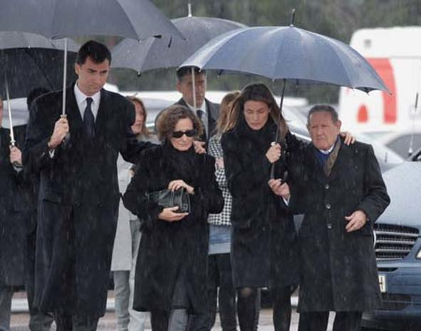 Mourning in Spain