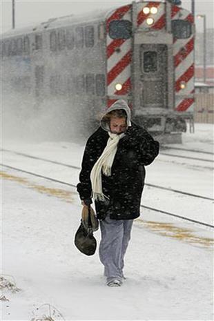 Old Man Winter Pays Visit