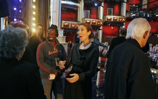 Rehearsing For Oscar