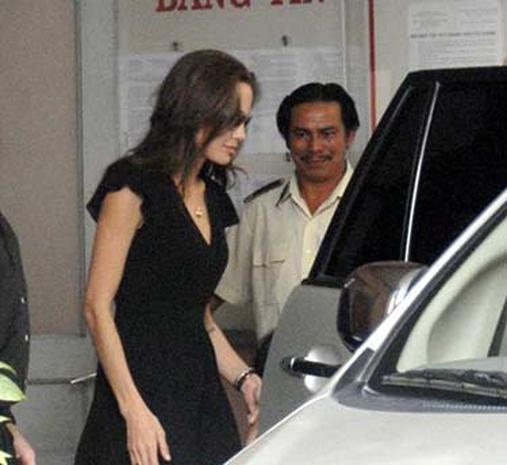 Angelina Jolie: Viet  Mom