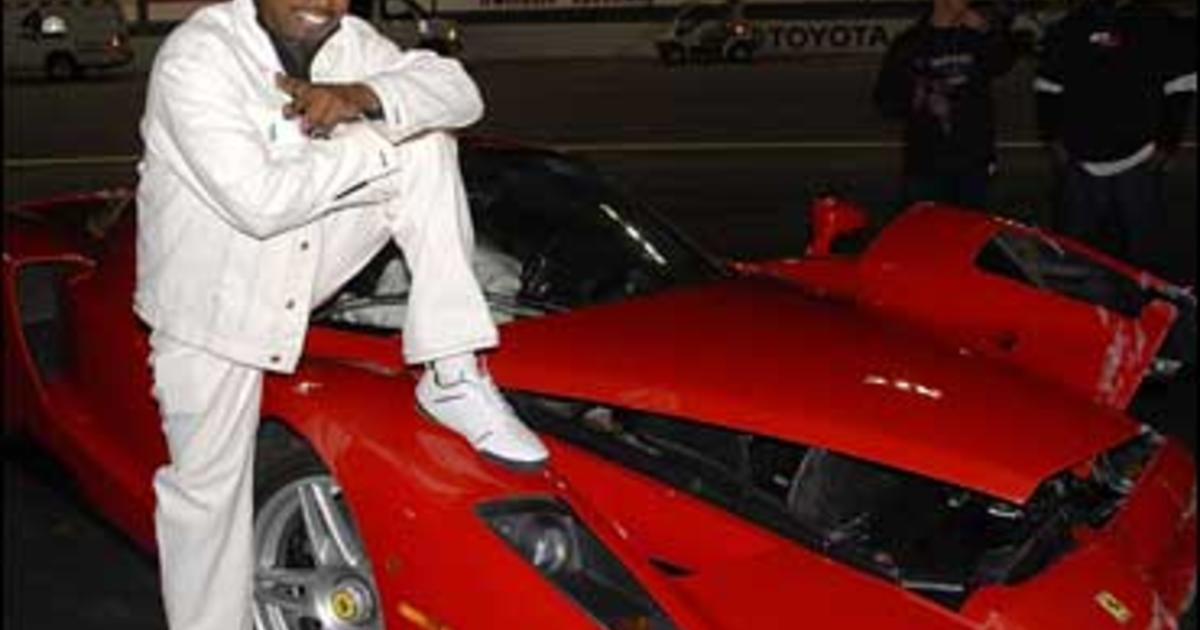 Eddie Griffin Wrecks $1.5 Million Ferrari - CBS News