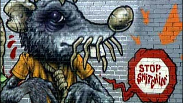 Rat Mural in New York City